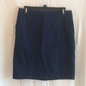 H&M Navy Blue Mini Skirt. Size 12.